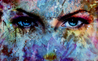 eyes art effect