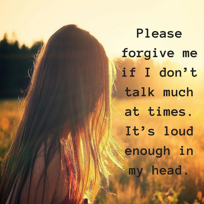 don't talk much