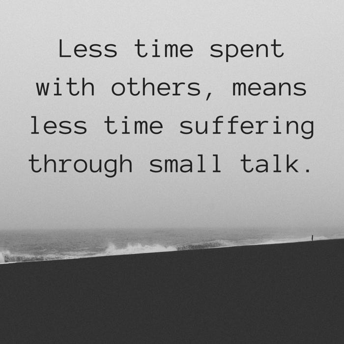 small talk quote