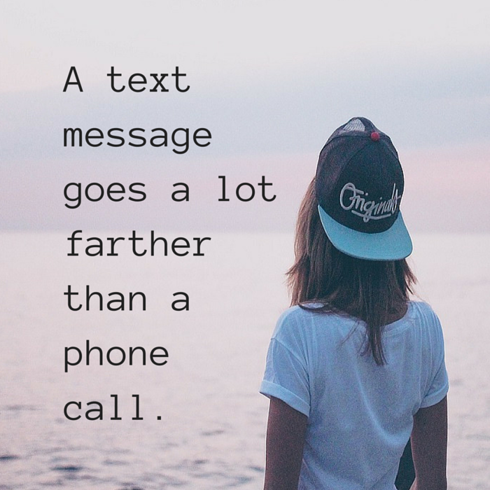 text message phone call