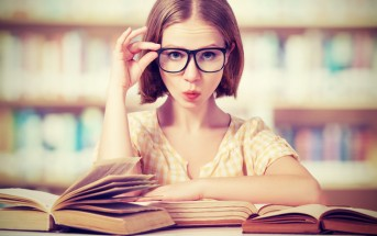 woman bookworm