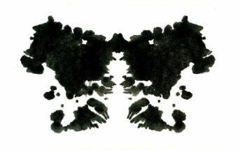 a Rorschach blot test