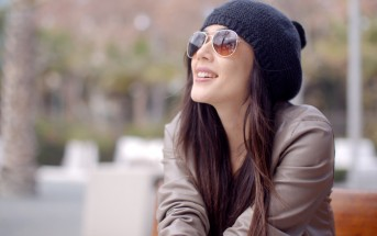 optimistic young woman smiling