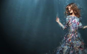 woman drowning feeling overwhelm