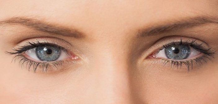closeup of woman's eyes - concept of controlling emotions