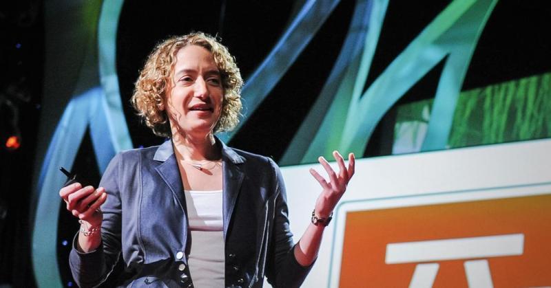 TED talk freeze frame