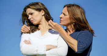 controlling mother arguing with daughter