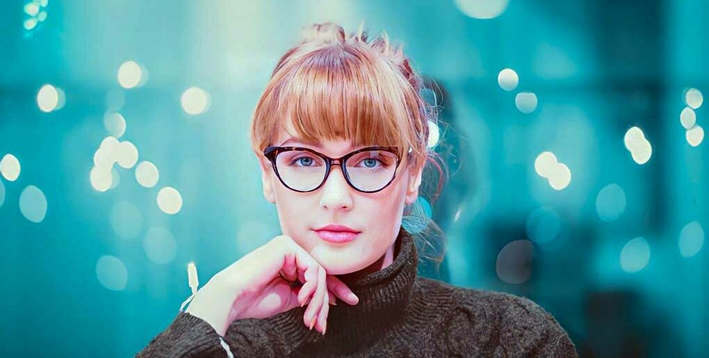 young woman looking business-like indicating the concept of empath jobs