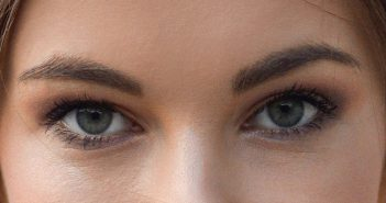 close-up of woman's eyes signifying an open-minded person