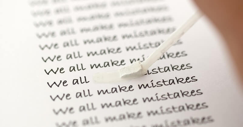 we all make mistakes, but some make the same ones repeatedly