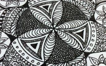a zentangle