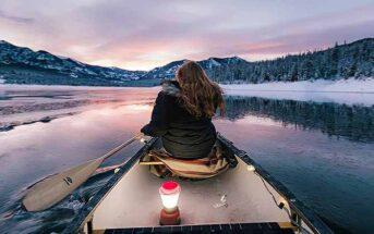 woman in kayak symbolizing being spontaneous