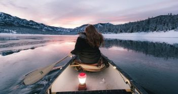 woman in kayak symbolizing being spontaneous