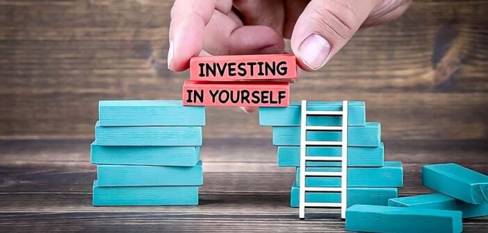 illustration of investing in yourself