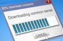 computer download status bar for common sense