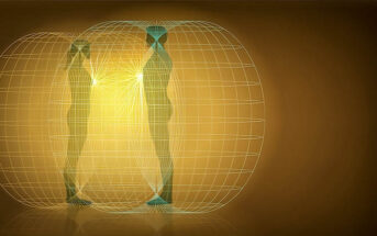 illustration of a man and woman with a deep spiritual connection