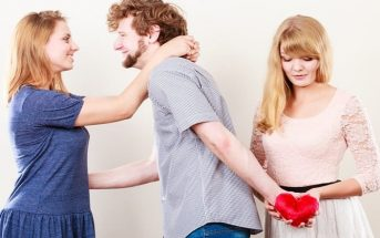 boyfriend with new partner who is not fully over his ex