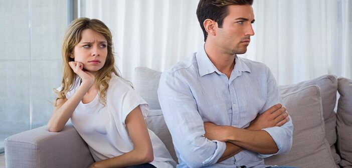husband refusing to talk about relationship problems with his wife