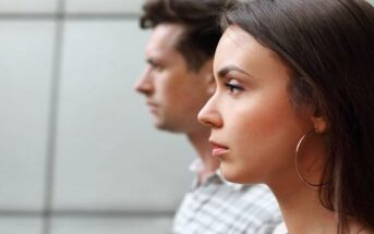 pensive looking couple illustrating broken promises in a relationship