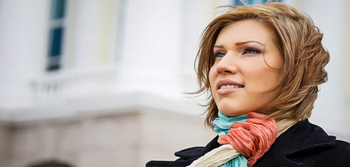 woman looking calm and poised after using a radical acceptance coping statement