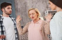 sibling conflict in adulthood with mother trying to defuse the situation