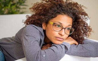 African American woman feeling empty inside