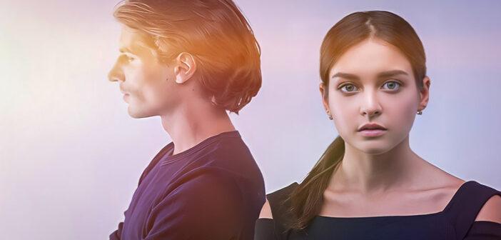 empath woman and narcissist man