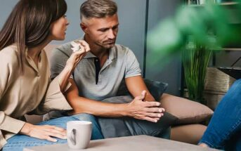 couple in counseling to discuss the details of infidelity