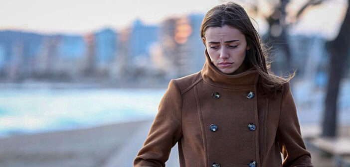 young woman looking troubled wondering whether her life will get better