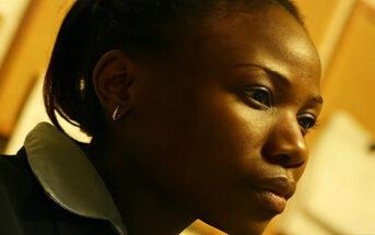 black woman working hard illustrating mental stamina