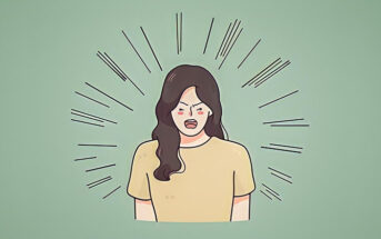 illustration of a woman with a bad attitude